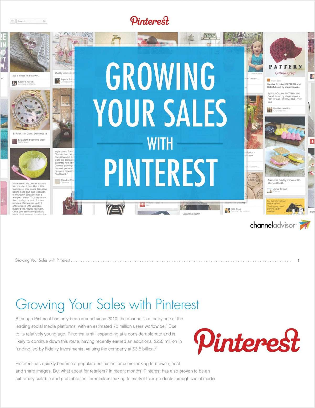 Capture Sales + Shoppers' Imaginations with Pinterest