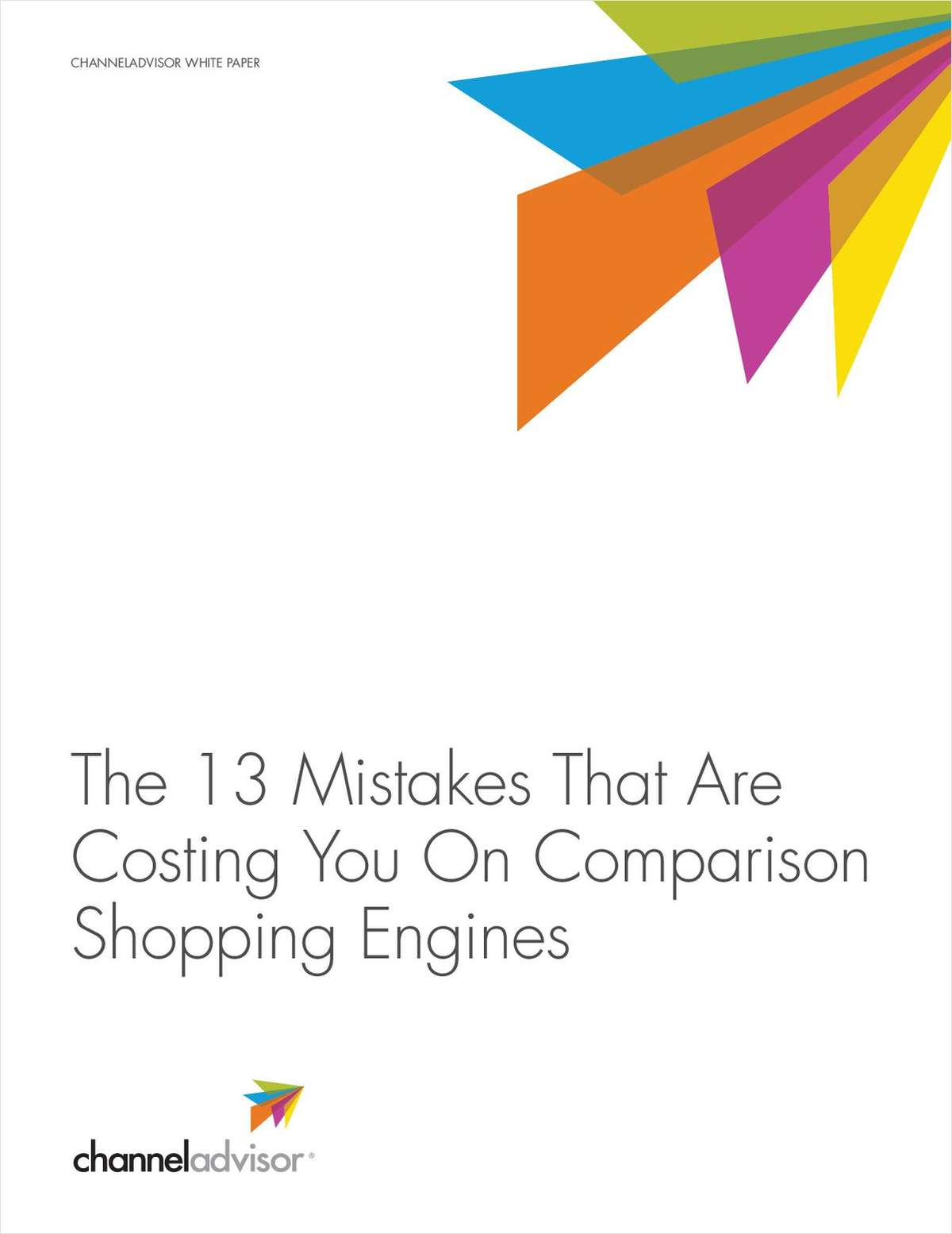 The 13 Mistakes that are Costing Retailers on Comparison Shopping Engines