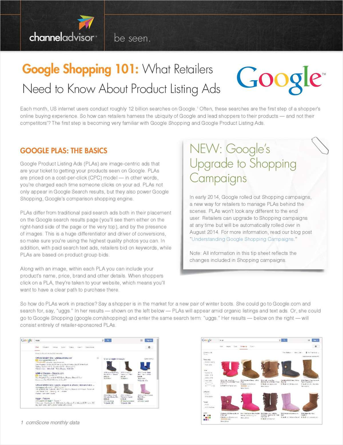 Google Shopping 101: What Retailers Need to Know About Product Listing Ads