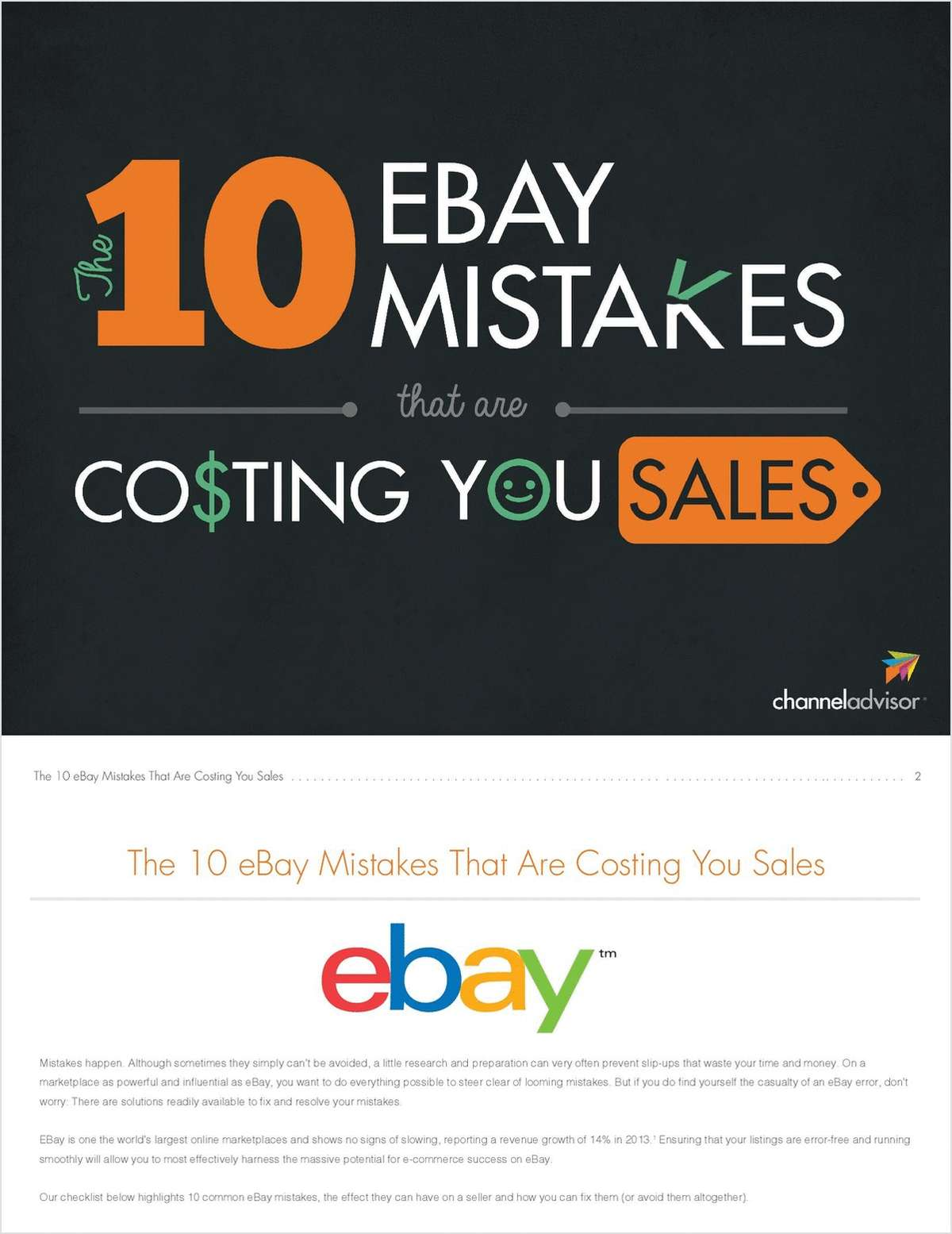 10 eBay Mistakes That Are Costing You Sales