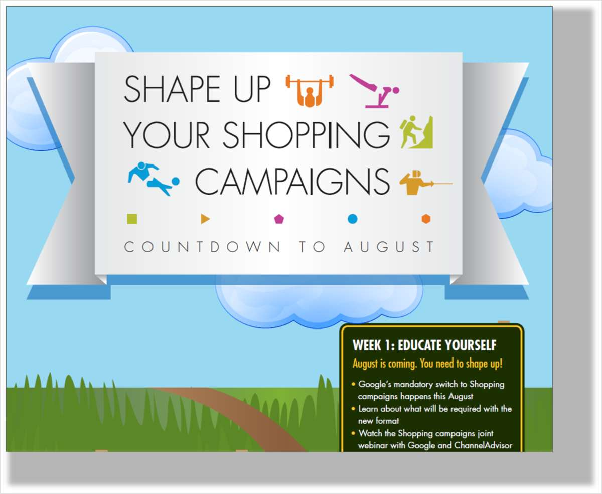 Shape Up Your Shopping Campaigns