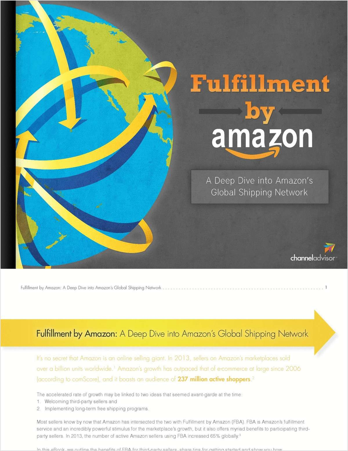 Fulfillment by Amazon: A Deep Dive into Amazon's Global Shipping Network
