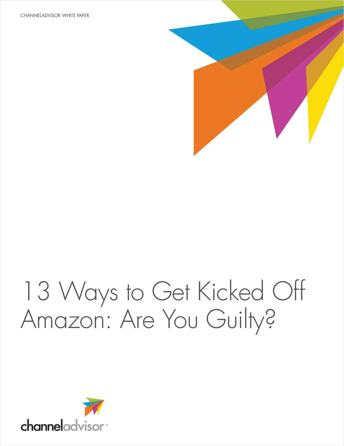 13 Ways to Get Kicked Off Amazon. Are You Guilty?