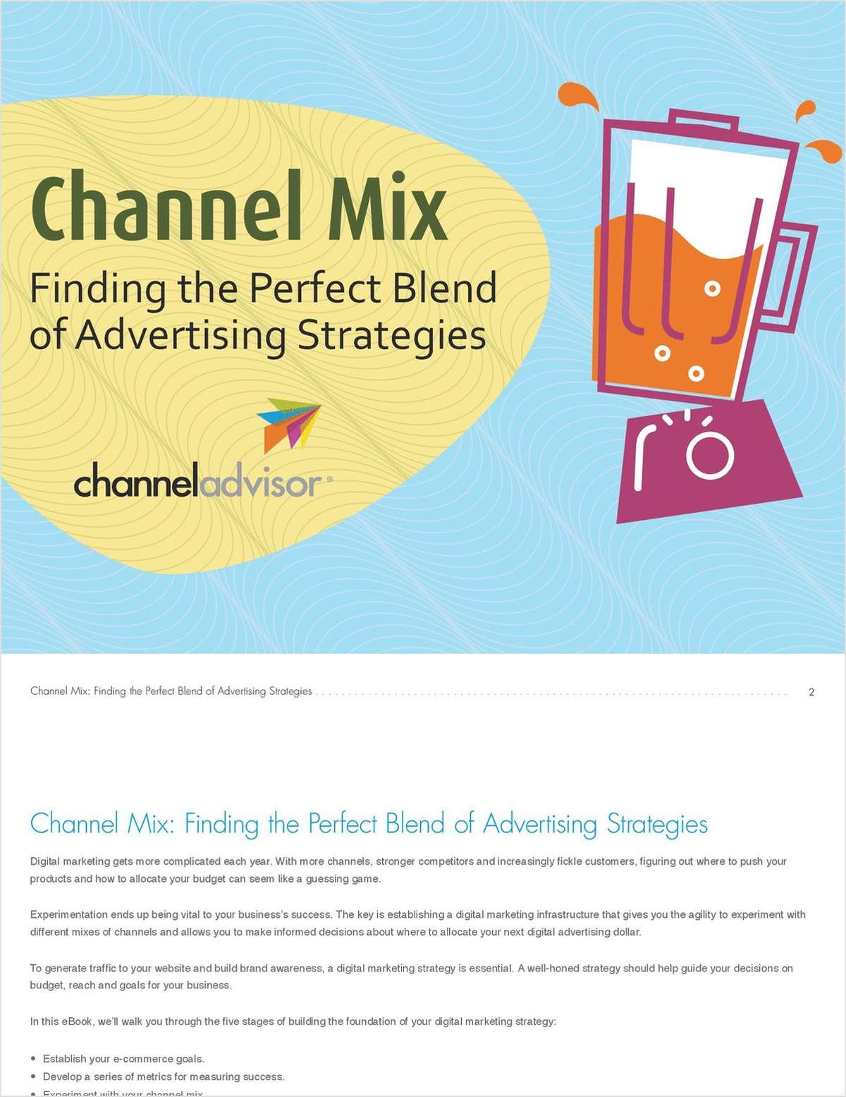 Channel Mix: Finding the Perfect Blend of Advertising Strategies