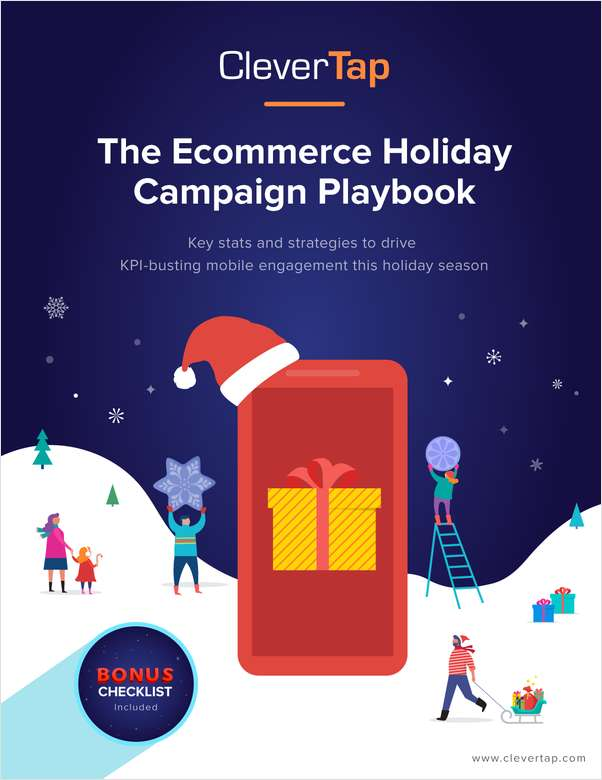 The Ecommerce Holiday Campaign Playbook