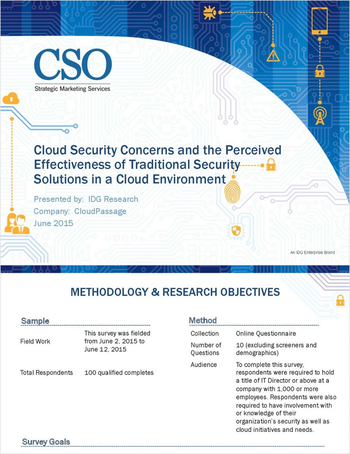 Cloud Security Concerns and the Perceived Effectiveness of Traditional Security Solutions in a Cloud Environment
