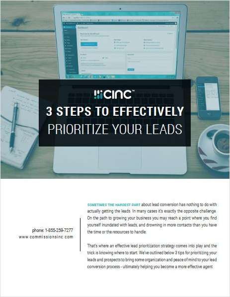 3 Steps to Effectively Prioritize Your Leads