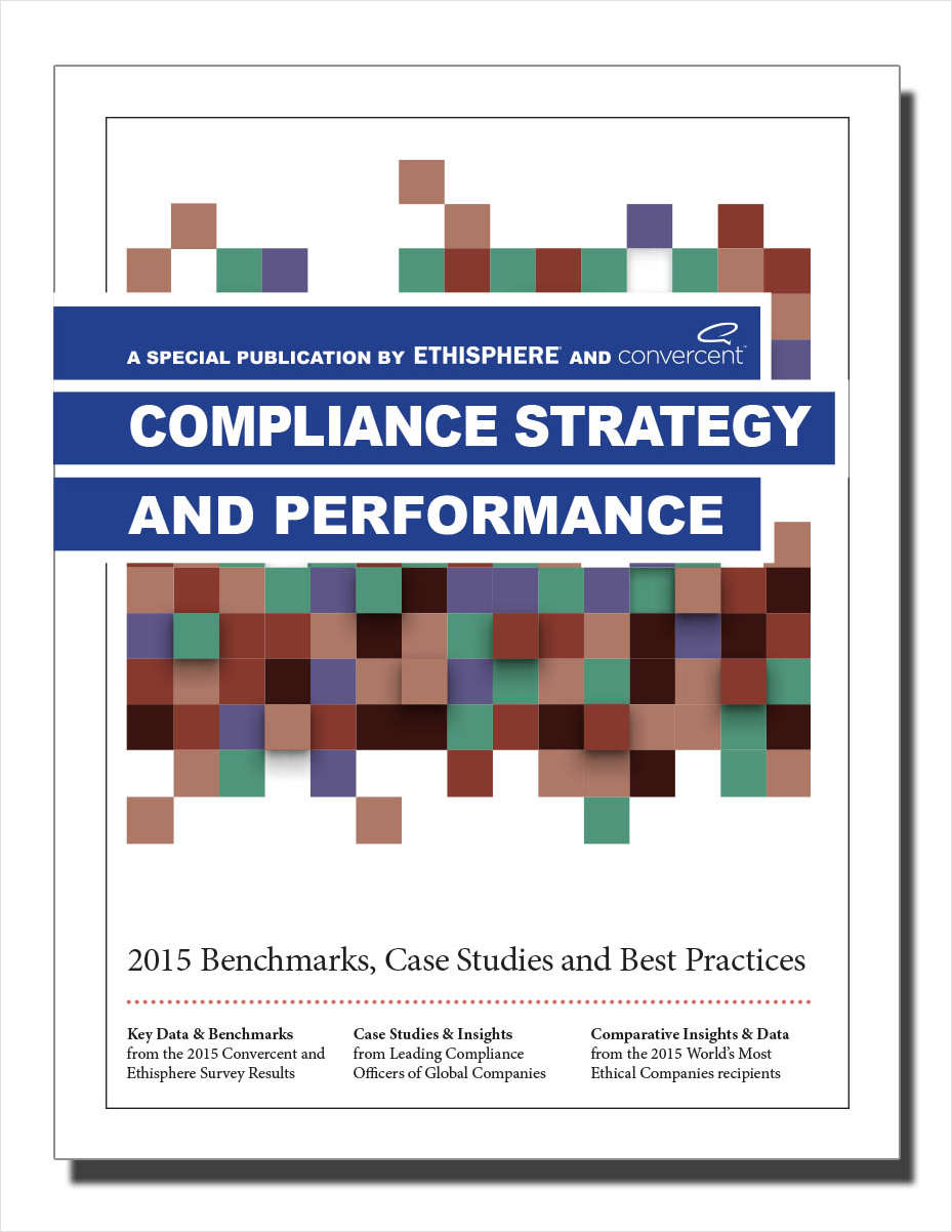 Compliance Benchmarking Report: Strategy and Performance