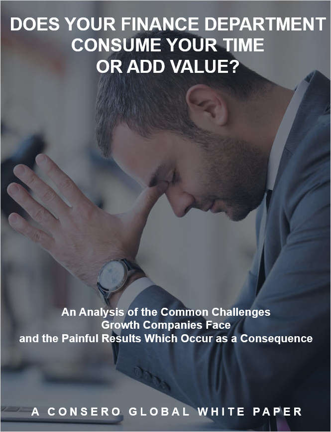 Does Your Finance Department Consume Your Time or Add Value