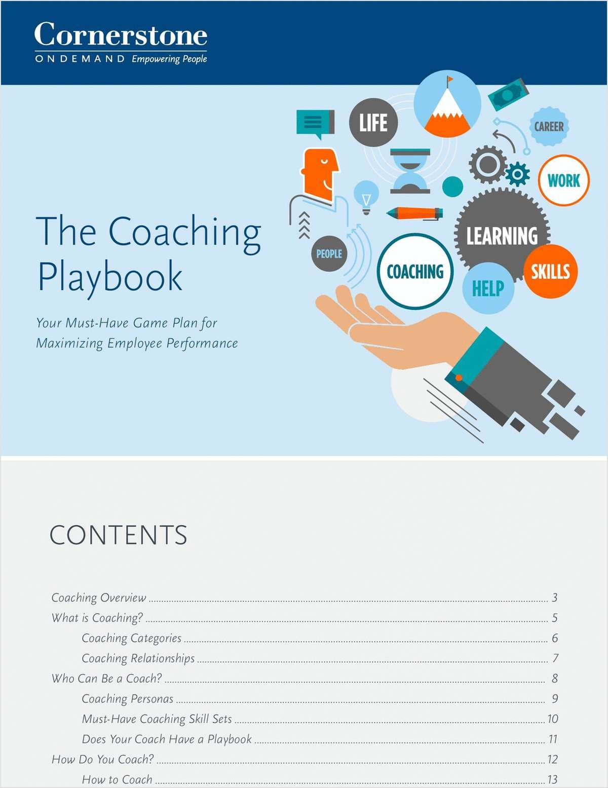 The Coaching Playbook: Your Must-Have Game Plan for Maximizing Employee Performance