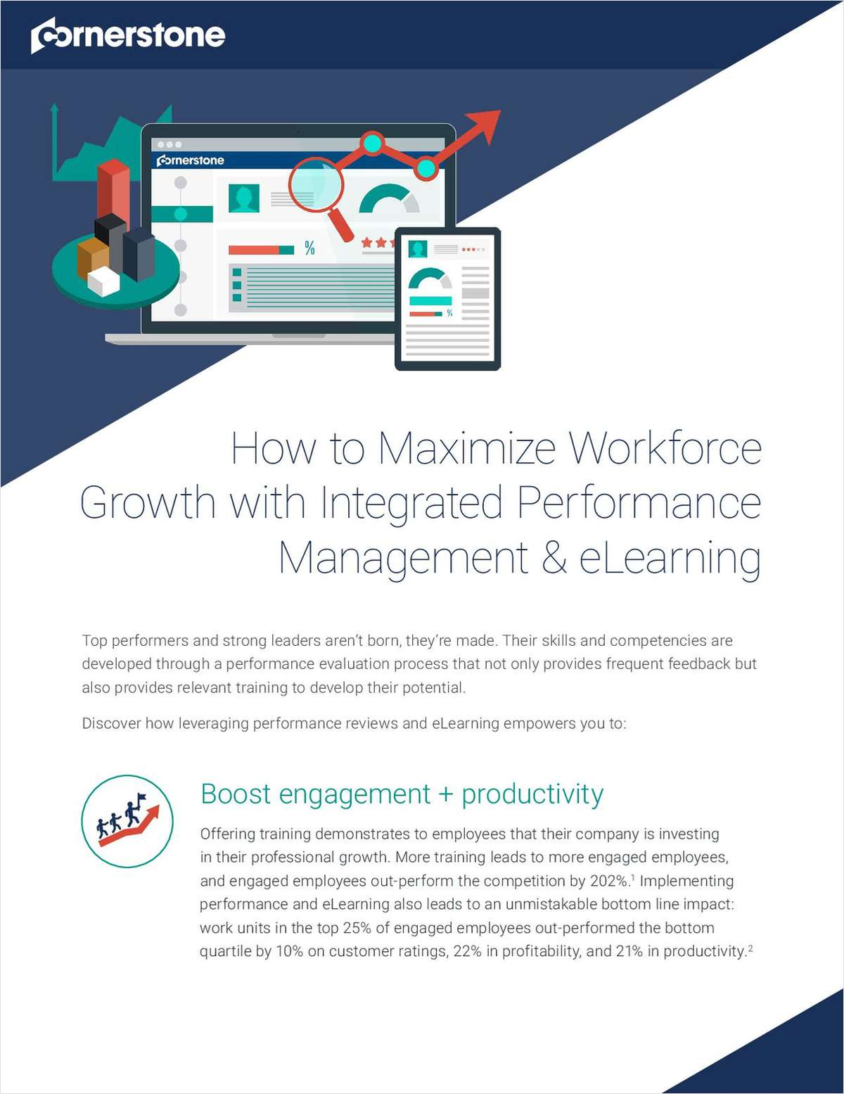 How to Maximize Workforce Growth with Integrated Performance Management and eLearning