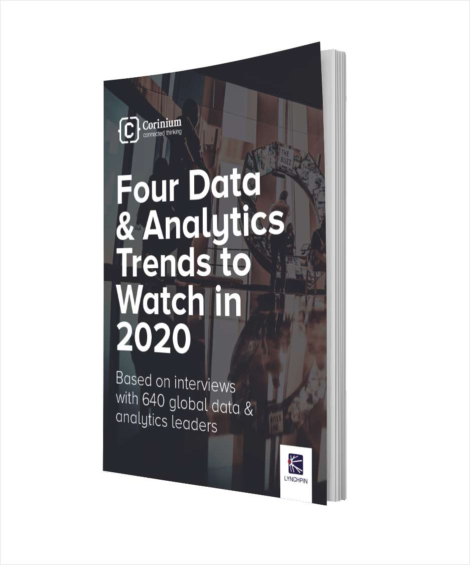 Four Data & Analytics Trends to Watch in 2020