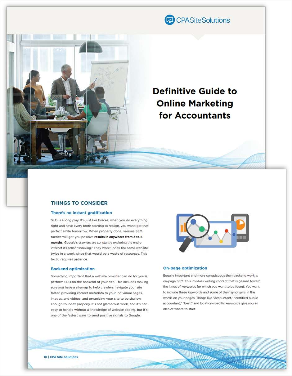 The Definitive Guide to Online Marketing for Accountants