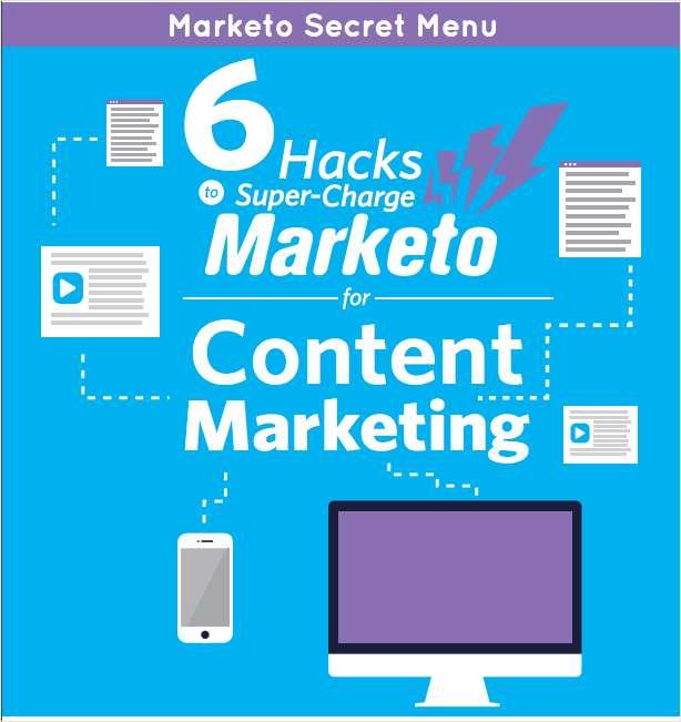 Marketo 'Secret Menu' - 6 Marketo Hacks For Content Marketing
