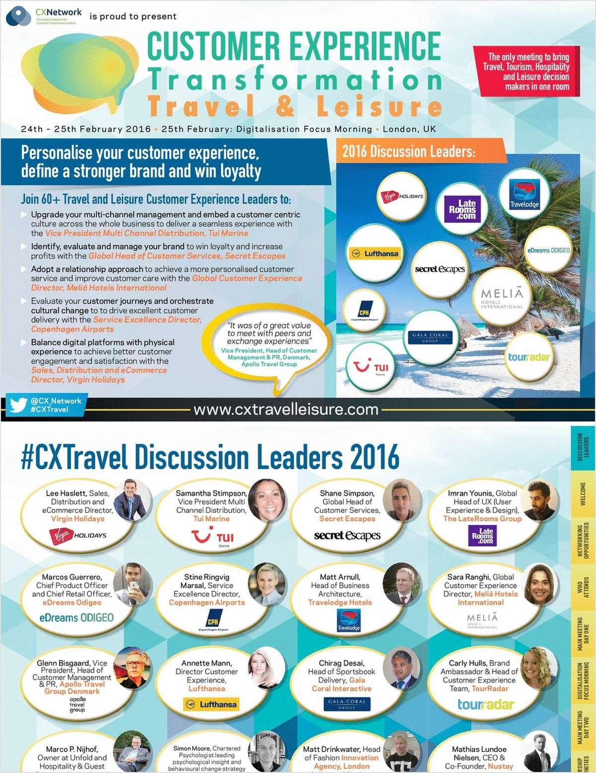 Customer Experience Transformation: Travel & Leisure
