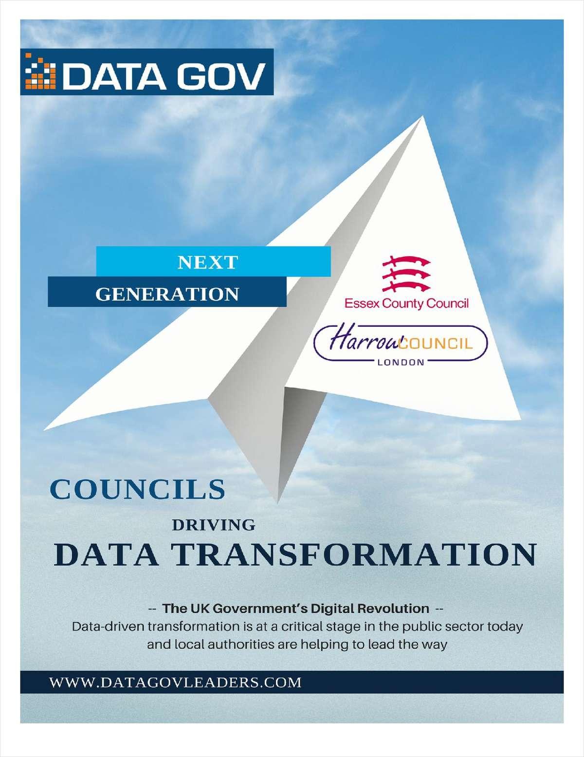 Next Generation Councils Driving Data Transformation