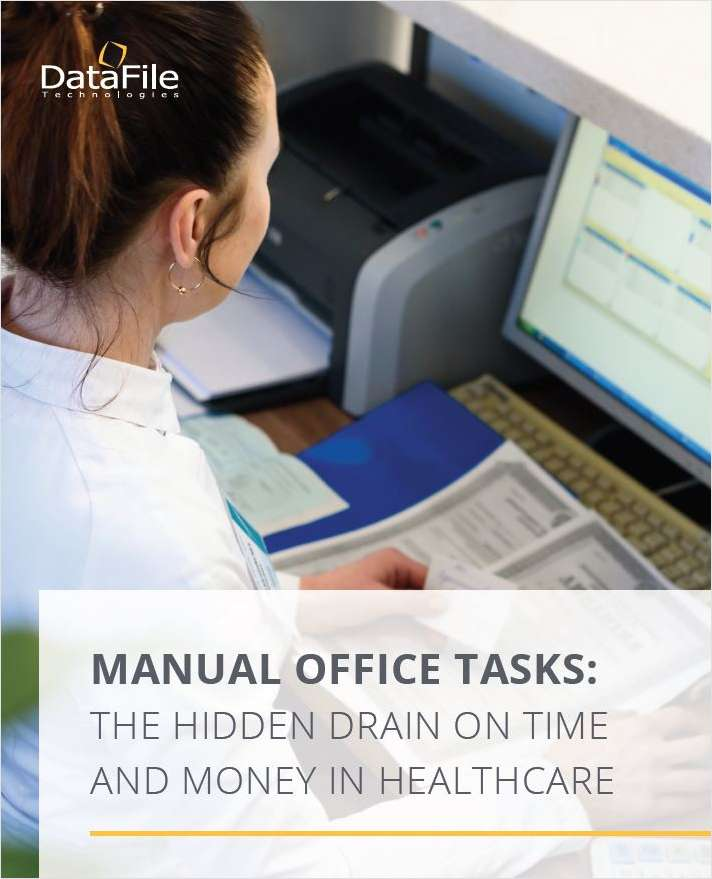 MANUAL OFFICE TASKS: THE HIDDEN DRAIN ON TIME AND MONEY IN HEALTHCARE