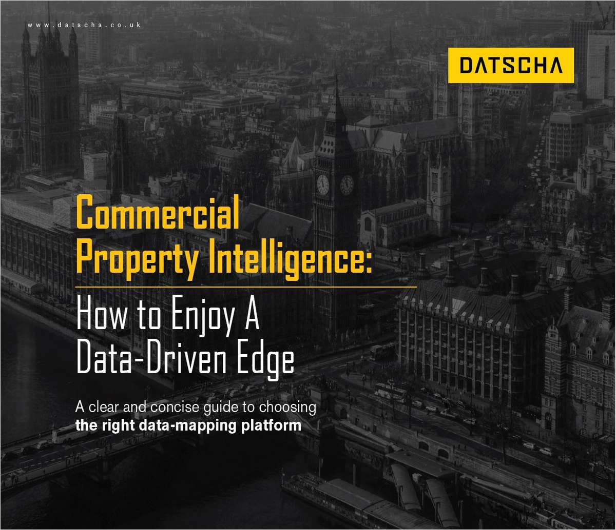 How to Enjoy A Data-Driven Edge