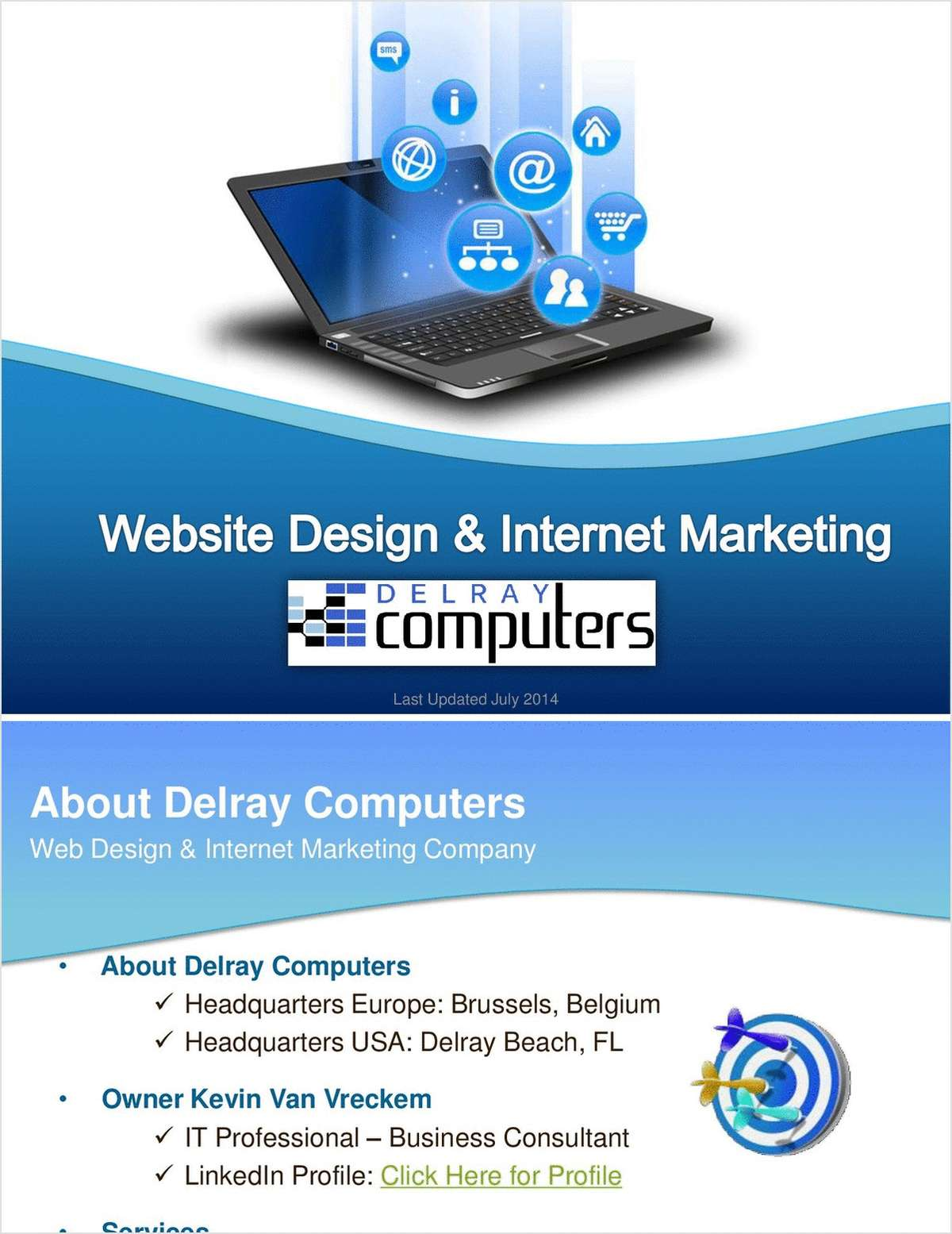 Delray Computers - Internet Marketing and Web Design Company with a European Headquarters