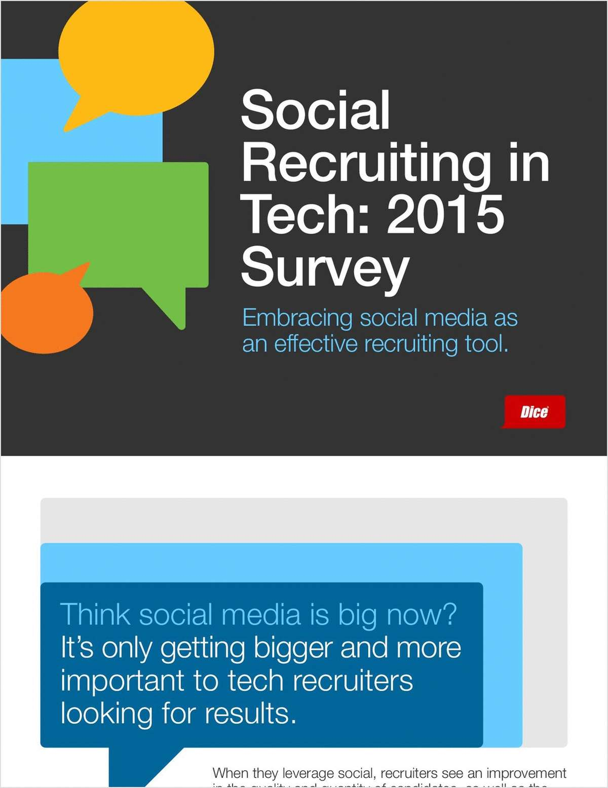 Social Recruiting Survey