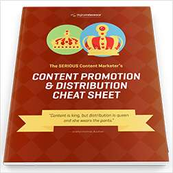 Content Promotion & Distribution Cheat Sheet