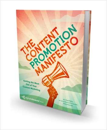 The Content Promotion Manifesto