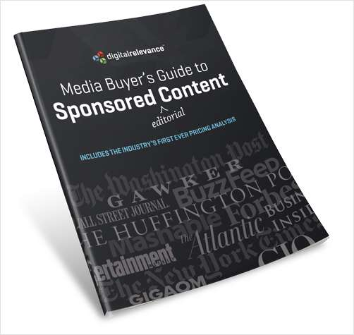 Media Buyer's Guide to Sponsored Content