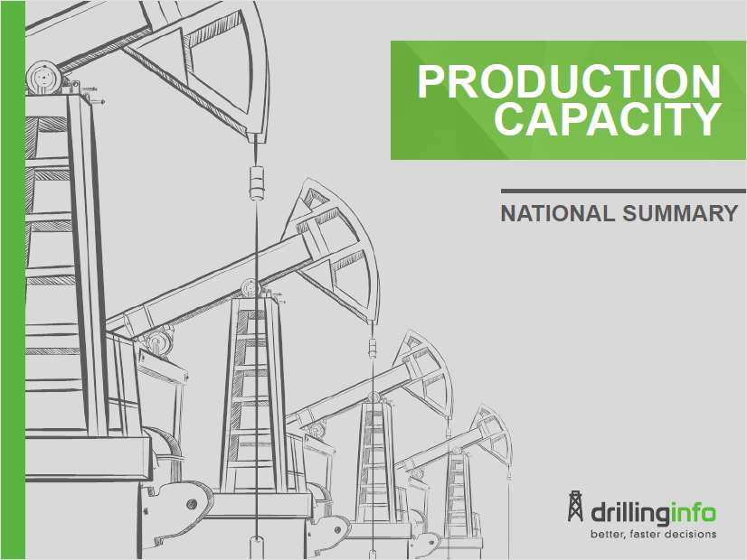Drillinginfo Production Capacity National Report