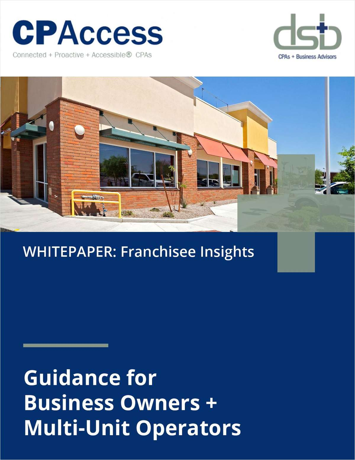 Franchise Growth: These Financial Insights from CPAs Offer Valuable Guidance to Multi-Unit Operators