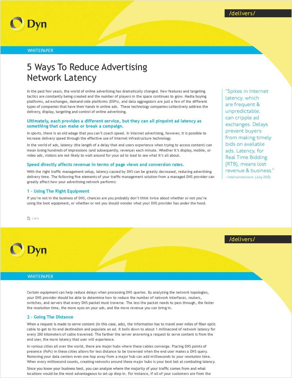 5 Ways to Reduce Advertising Network Latency