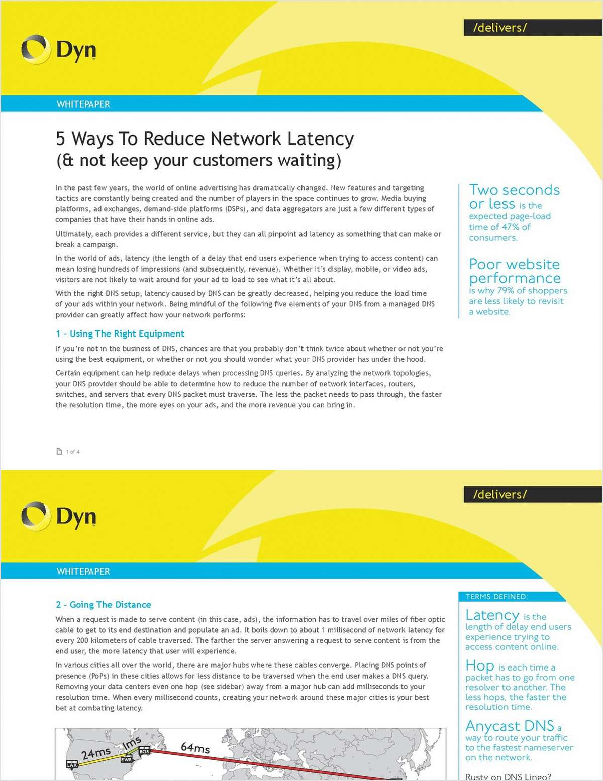 5 Ways to Reduce Advertising Network Latency (and not keep your customers waiting)