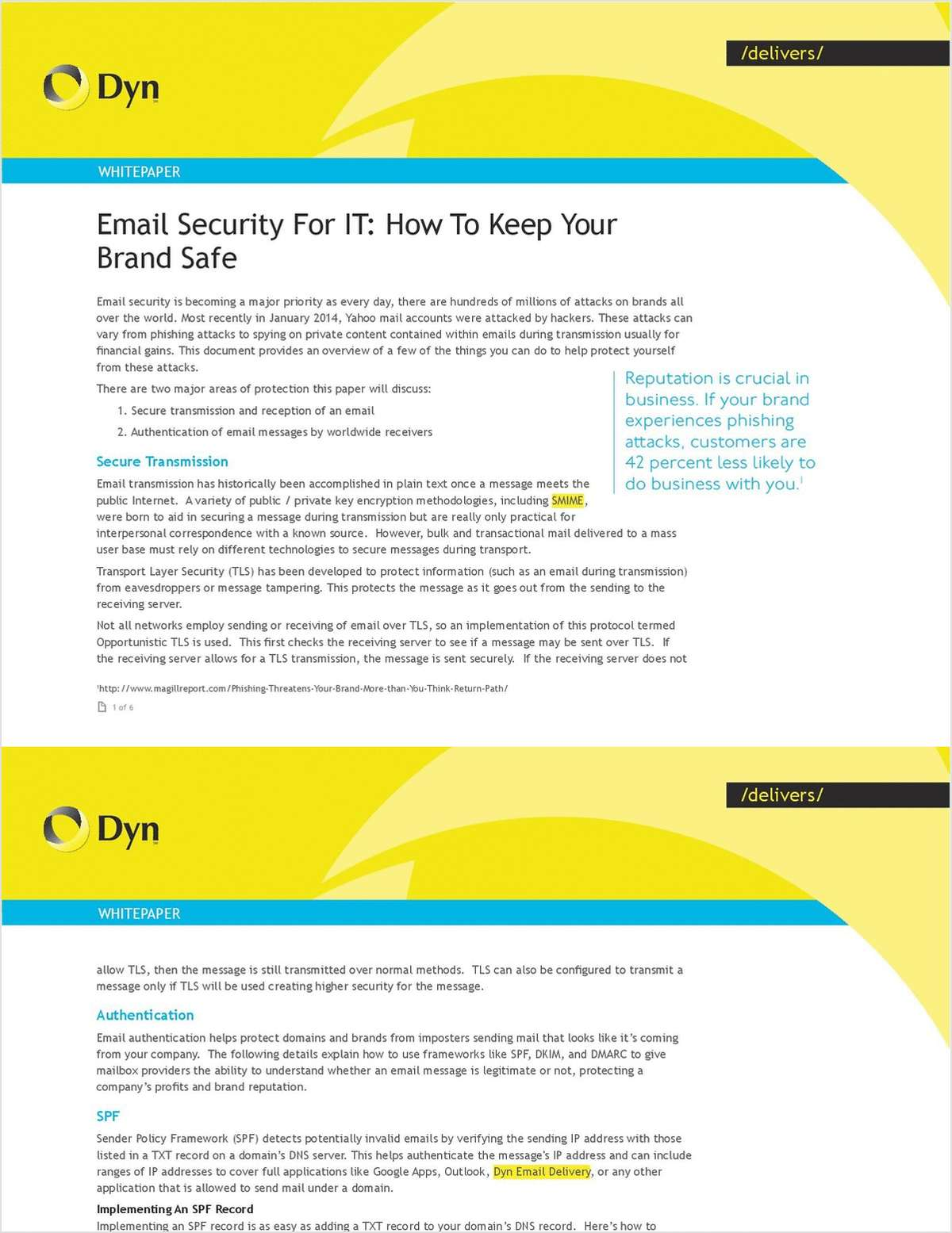 Protecting Your Brand & Reputation: A Guide To Email Security For IT