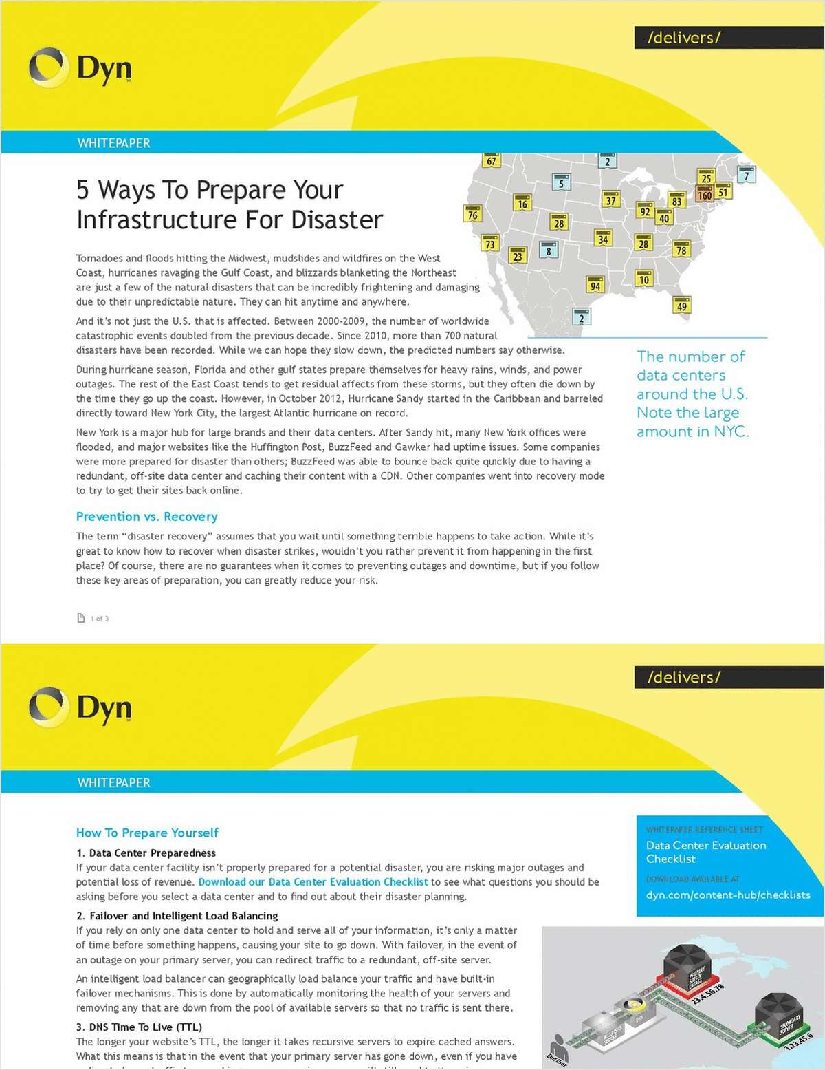 5 Ways to Prepare Your Infrastructure For Disaster