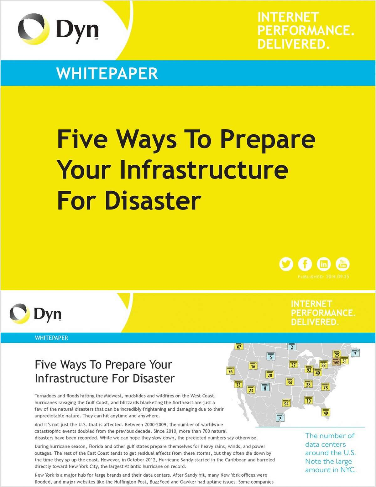 Five Ways To Prepare Your Infrastructure For Disaster