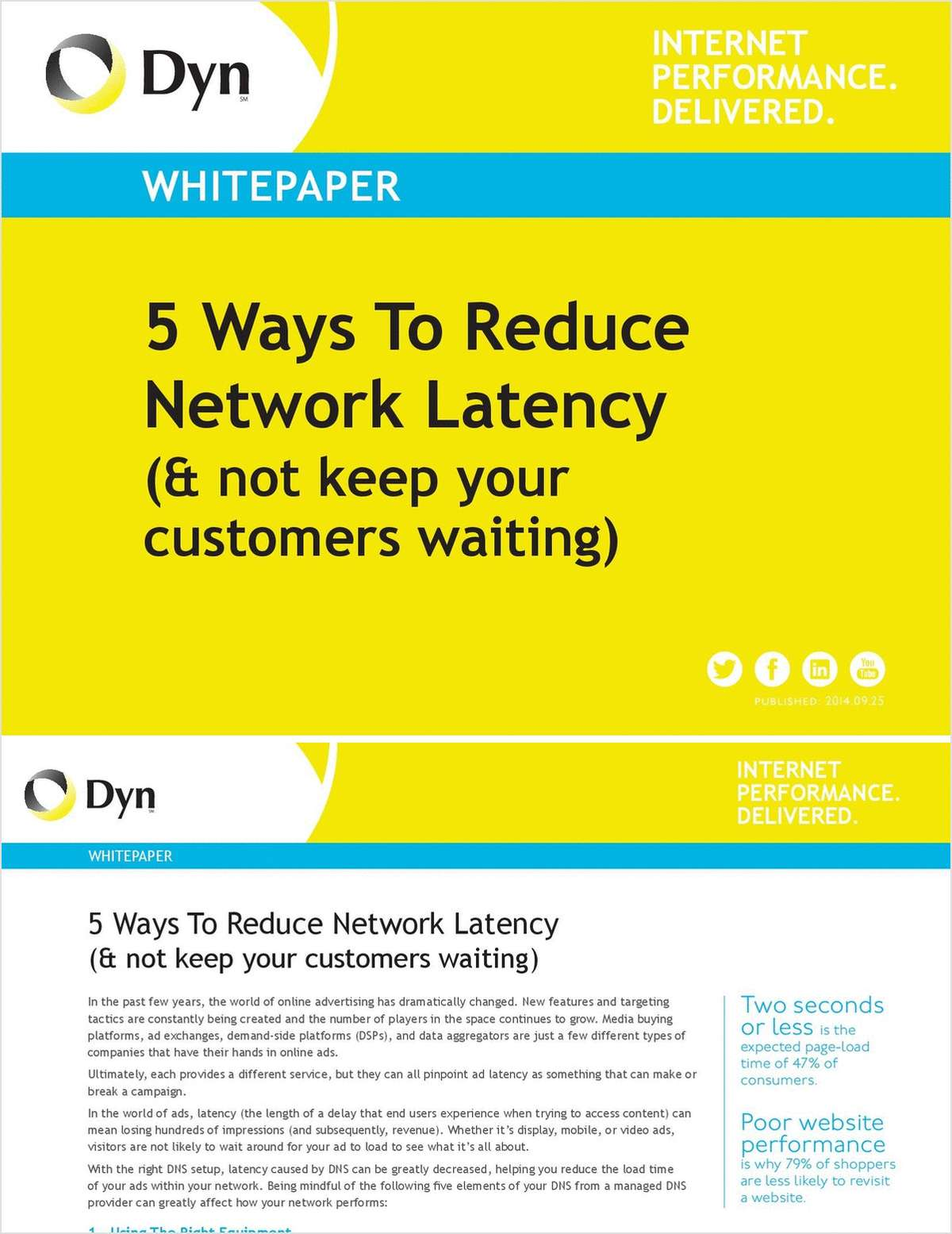 Five Ways to Reduce Network Latency