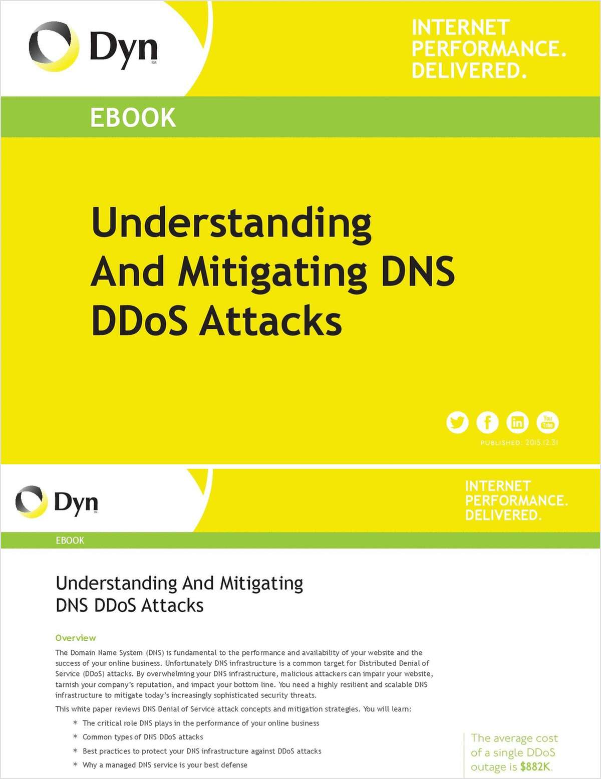Understanding And Mitigating DNS DDoS Attacks