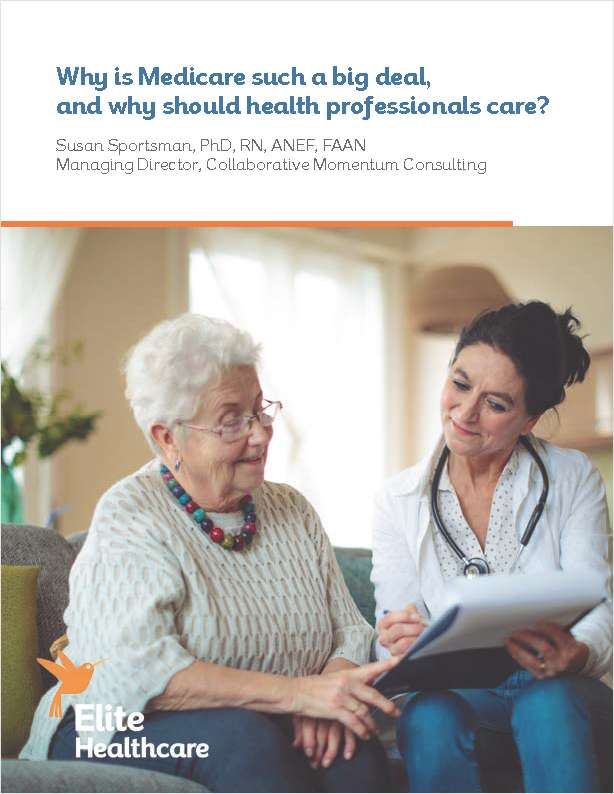 Why is Medicare Such a Big Deal, and Why Should Health Professionals Care?