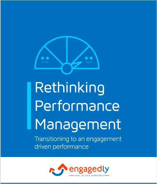 Rethinking Performance Management