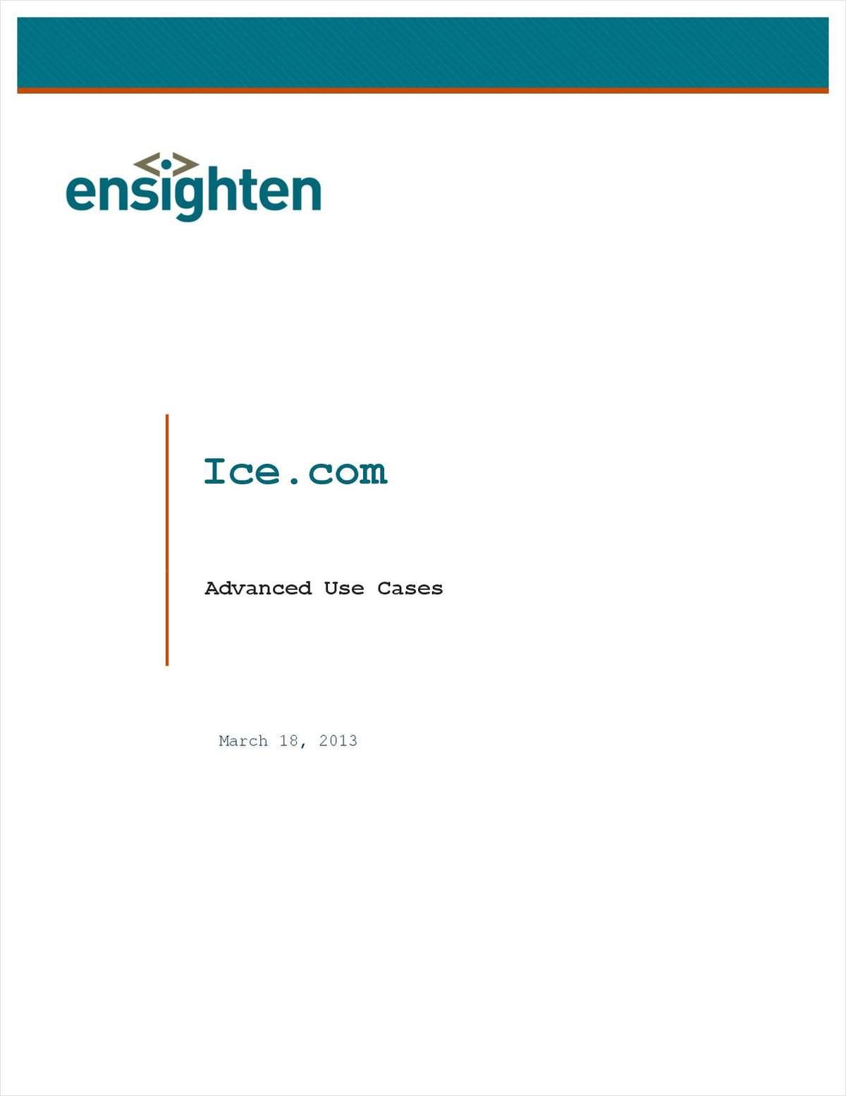 Advanced Use Case: Ice.com