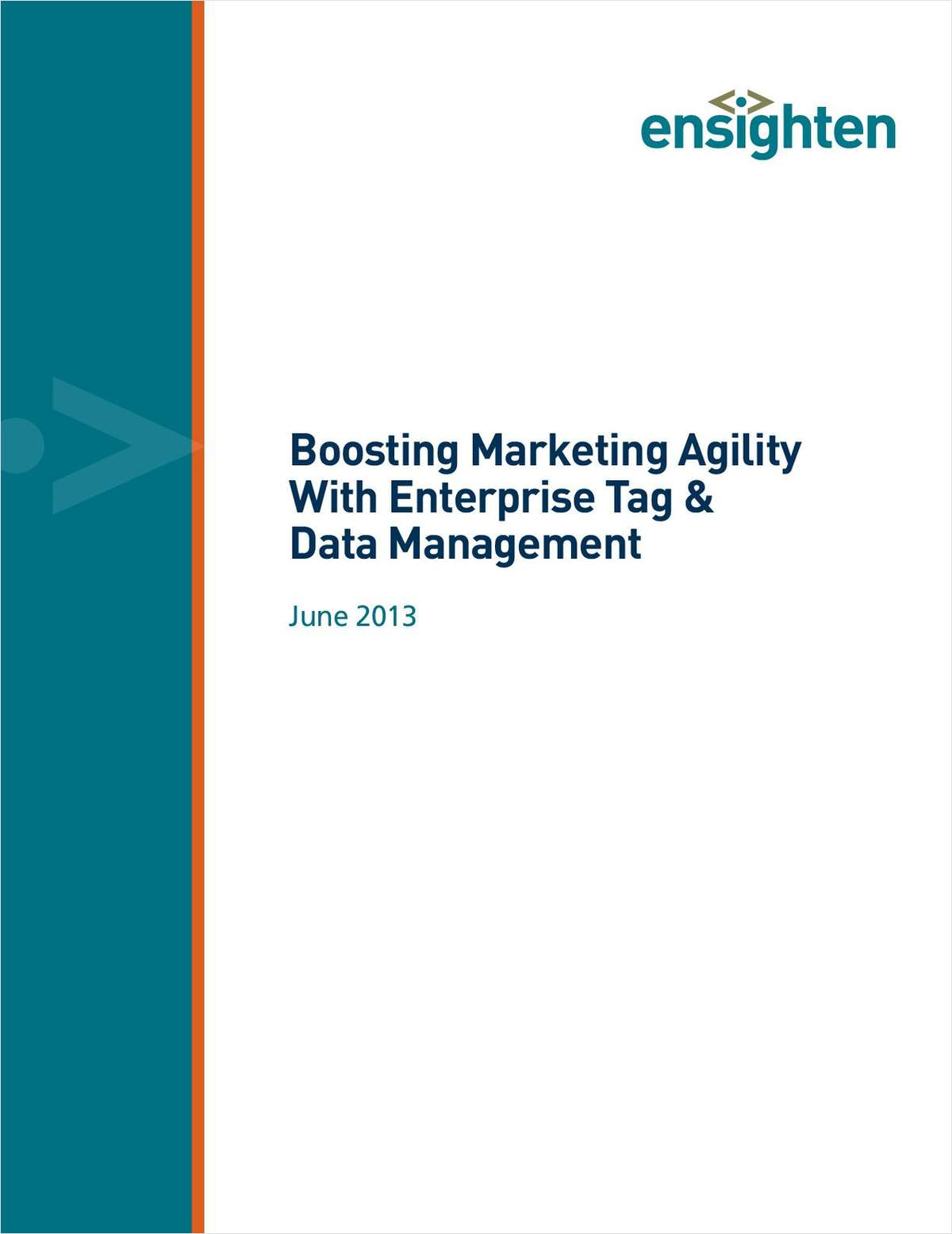 Boosting Enterprise Agility with Tag and Data Management