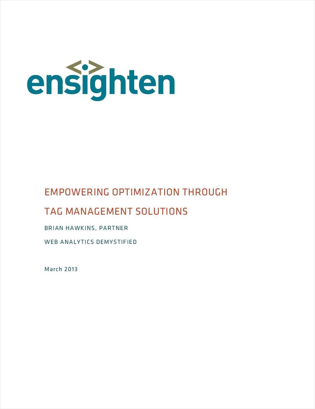 Empowering Optimization Through Tag Management Solutions