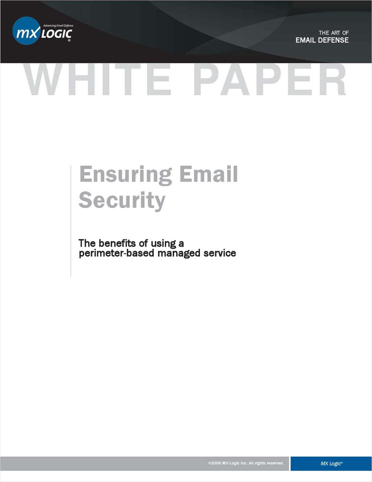 Ensuring Email Security