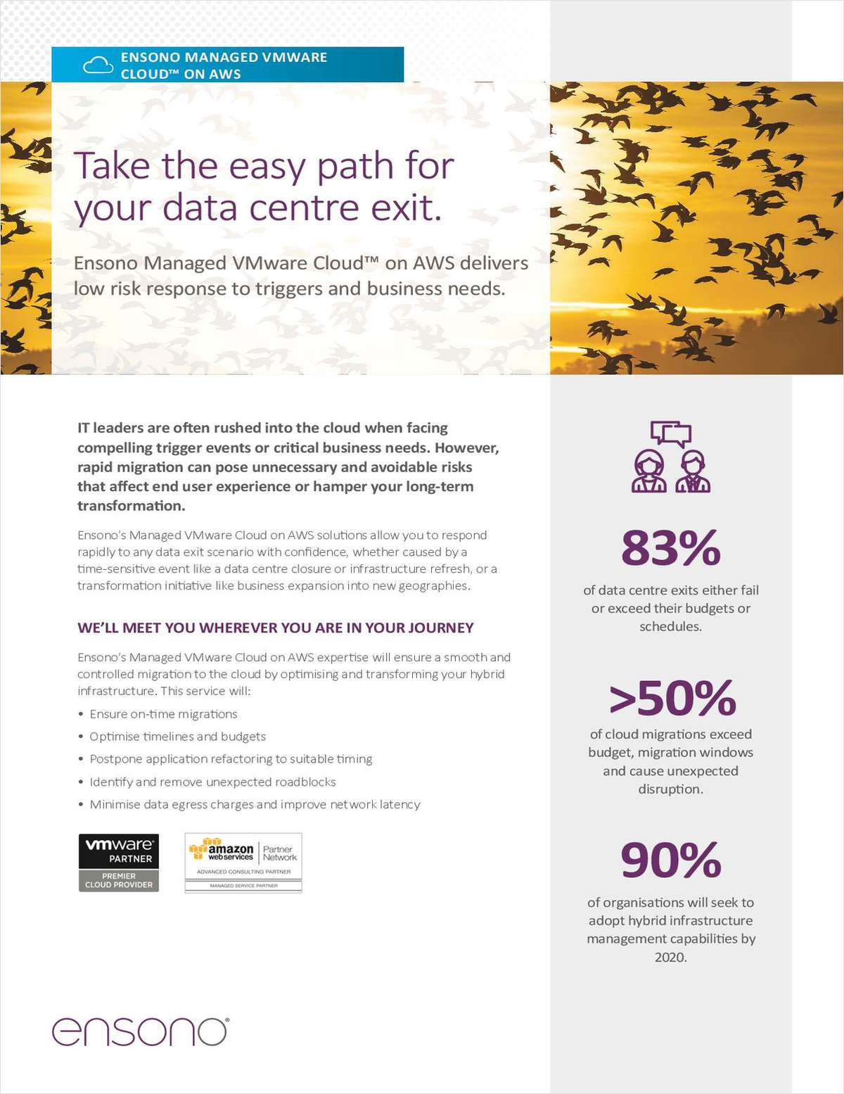 Take The Easy Path For Your Data Centre Exit