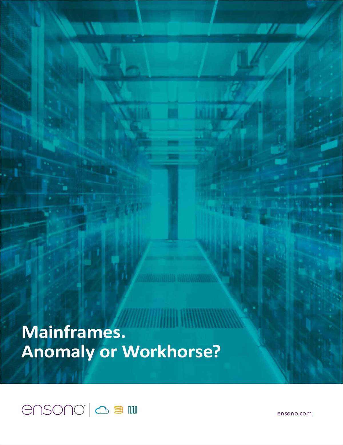 Mainframes. Anomaly or Workhorse.