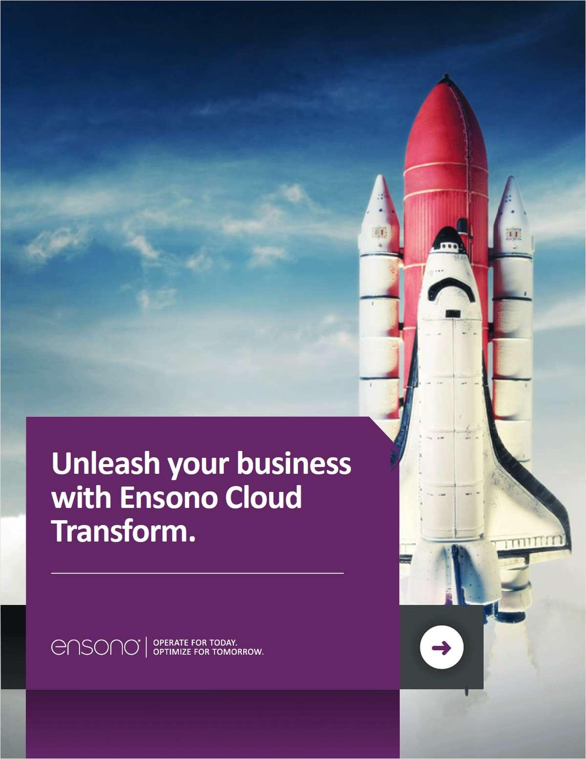 Ensono Cloud Transform How to Guide