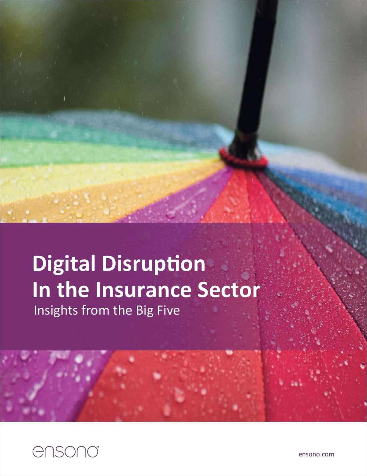 Digital is Disrupting Insurance