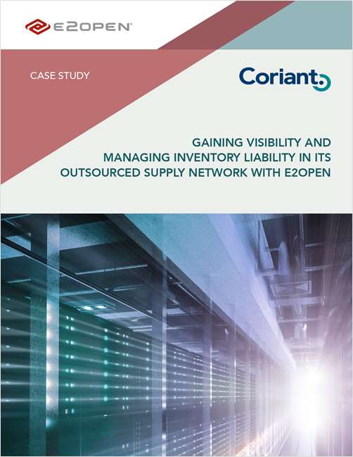 Coriant: Gaining Visibility and Managing Inventory Liability in Its Outsourced Supply Network
