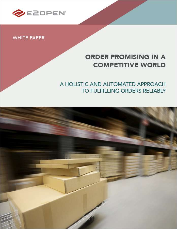 Order Promising in a Competitive World