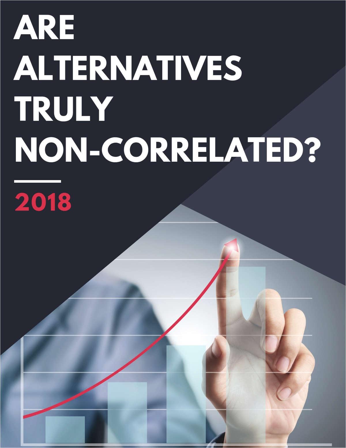Are Alternatives Truly Non-Correlated?
