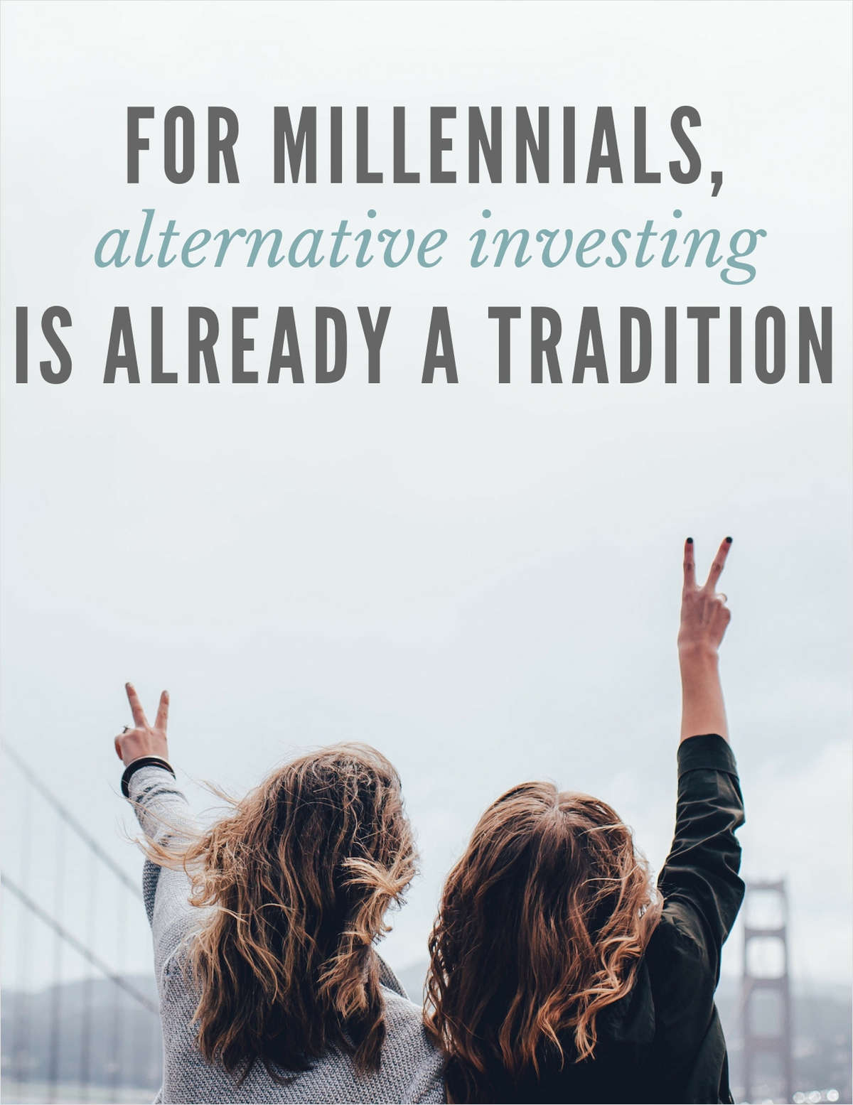 For Millennials, Alternative Investing is Already a Tradition